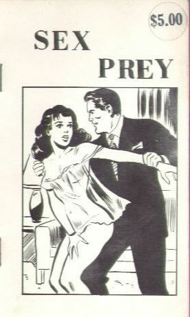 SEX PREY  by Orlando (cover by Shuster?)
