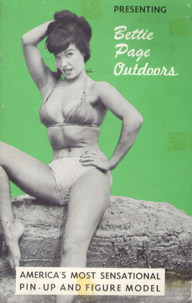 Bettie Page Outdoors -- Modern Age c. 1953