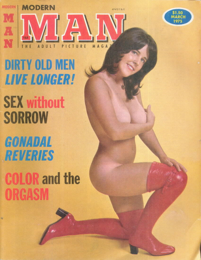MODERN MAN 25.3 with Roberta Pedon March 1975