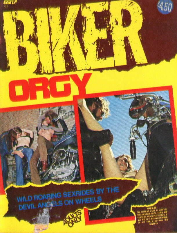 BIKER ORGY (GSN #32, Utopia Publishing, 1973)