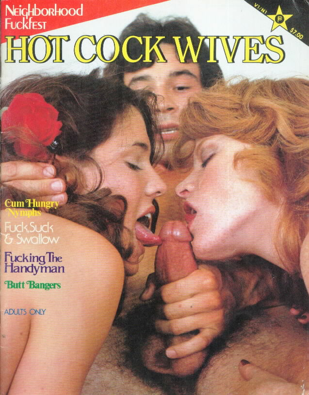 Black Porn Magazines 1971 - HOT COCK WIVES