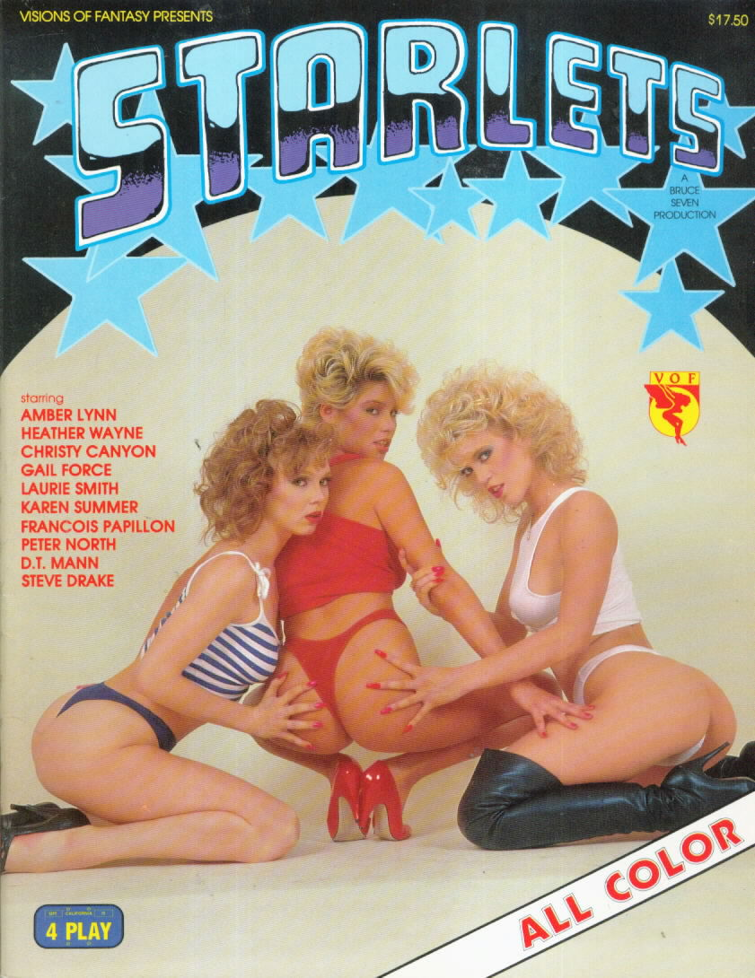 VOF STARLETS with Christy Canyon, Amber Lynn, Gail Force Francois Papillon