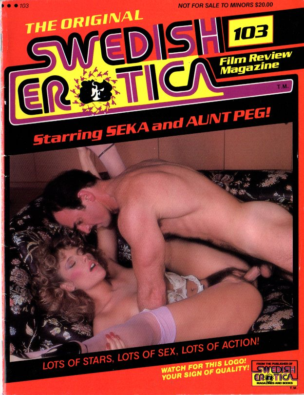 Swedish Erotica #103 with Seka and Aunt Peg