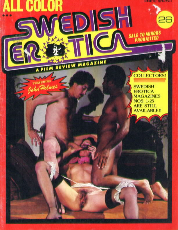 Black Porn Magazines 1971 - Starring John Holmes and Serena!