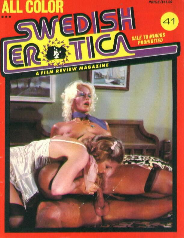 Swedish vintage porn magazine