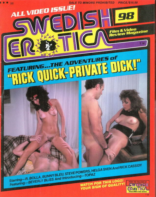 Rick Quick Private Dick!