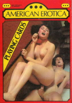 Deck of American Erotica Playing Cards