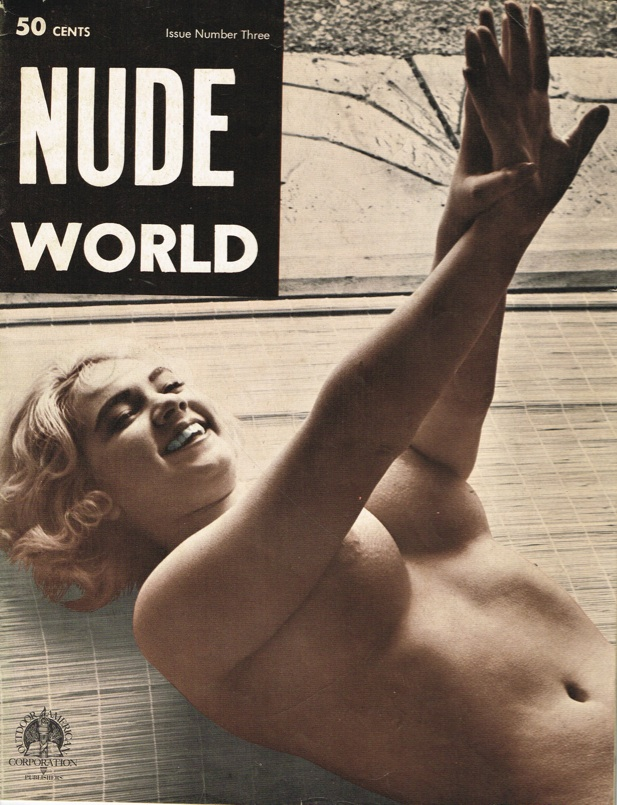 NUDE WORLD #3 1962