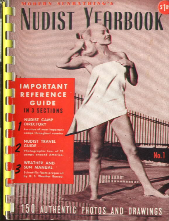 Modern Sunbathing NUDIST YEARBOOK #1 (1954)