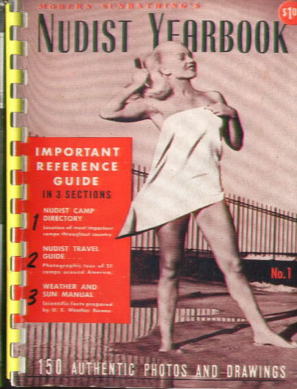 MODERN SUNBATHING'S NUDIST YEARBOOK