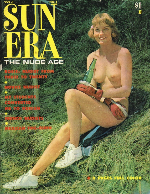 magazines Vintage nudist