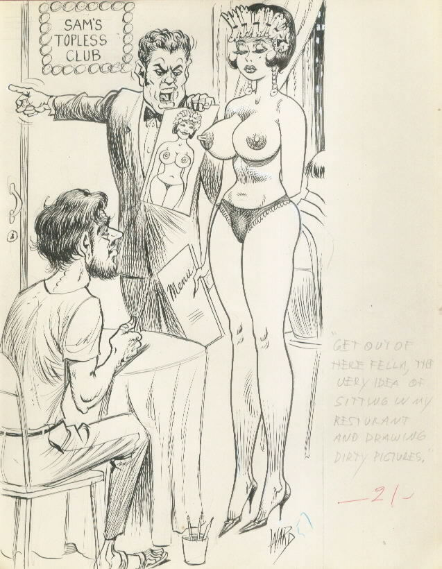 Vintage Adult Comics