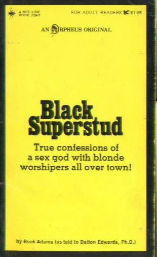 BLACK SUPERSTUD by Buck Adams