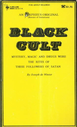 BLACK CULT by Joseph de Winter