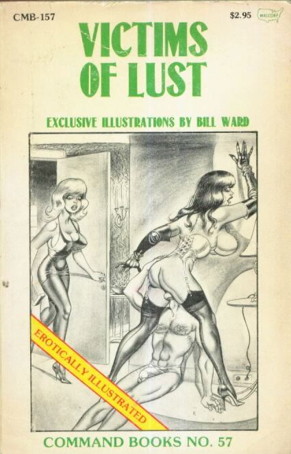 Command Books, Eros-Goldstripe VICTIMS OF LUST by Francine Powers CMB 157