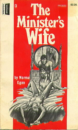 THE MINISTER'S HOT WIFE by Norma Egan