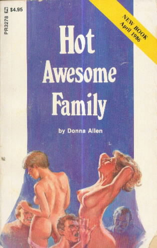 HOT AWESOME FAMILY by Donna Allen