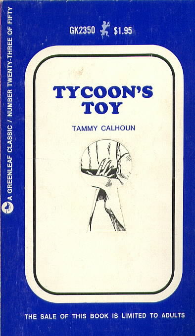 TYCOON'S TOY by Tammy Calhoun