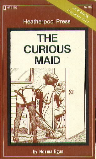 HP6151 THE CURIOUS MAID by Norma Egan