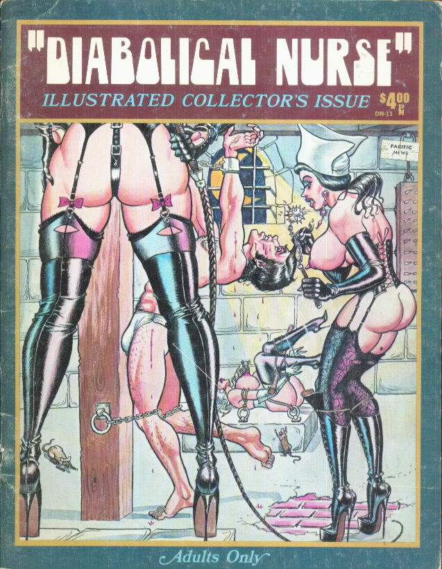 DIABOLICAL NURSE Bill Ward Hilbarth 1973