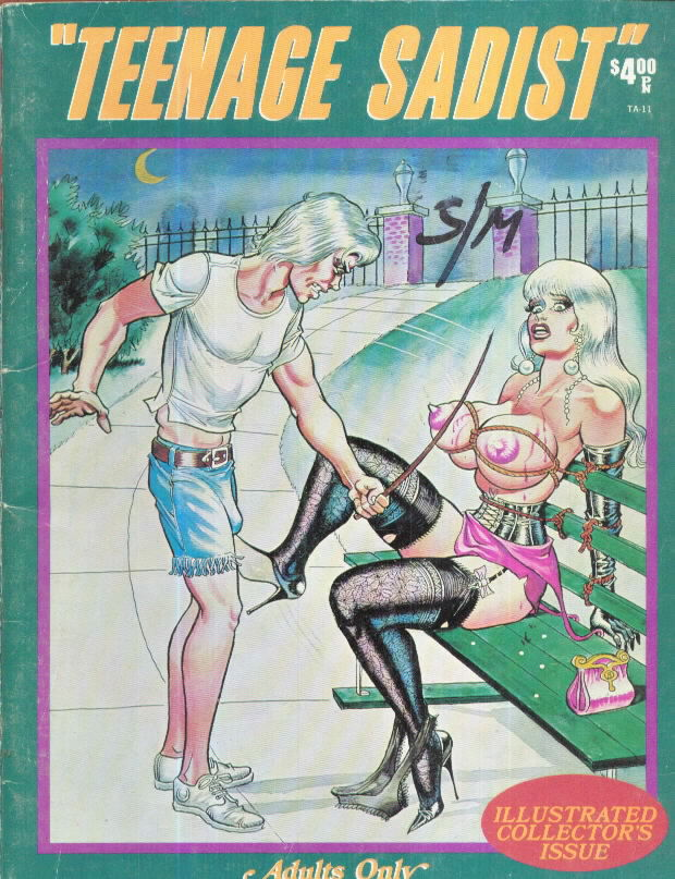 TEENAGE SADIST by Bill Ward Hilbarth 1973
