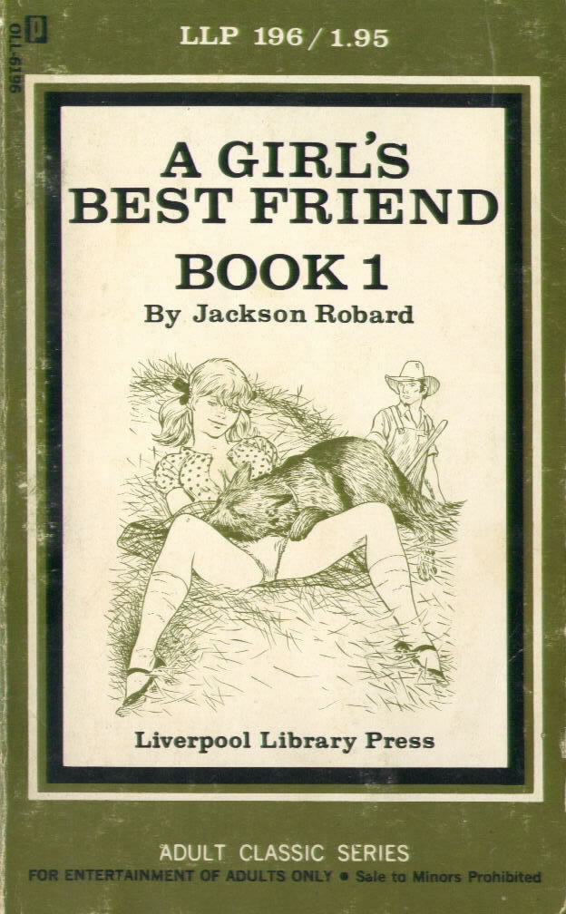 LLP 196 A GIRL'S BEST FRIEND by Jackson Robard