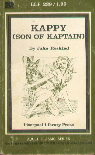 KAPPY (SON OF KAPTAIN) by John Reskind