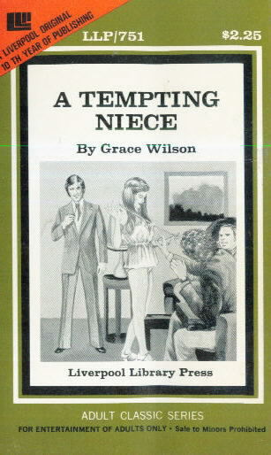A TEMPTING NIECE by Grace Wilson