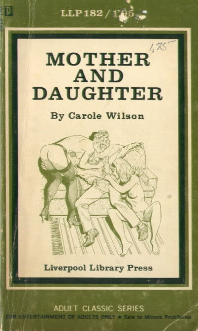 MOTHER AND DAUGHTER Liverpool Library Press 182 by Carole Wilson