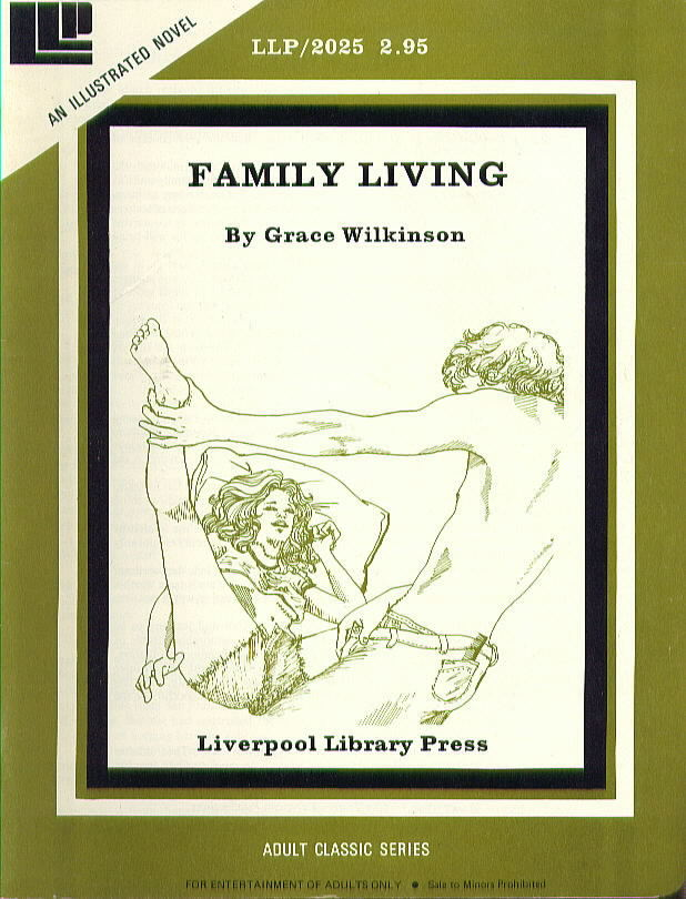LLP 2025 Illustrated Novel FAMILY LIVING by Grace Wilkinson