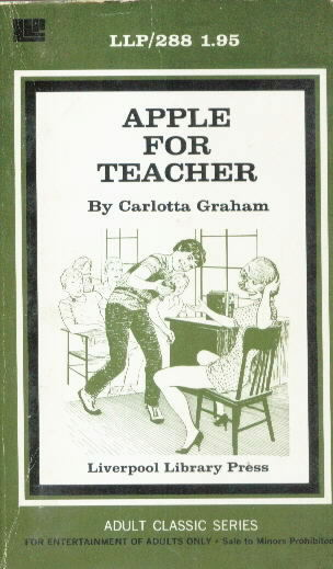 APPLE FOR TEACHER by Carlotta Graham