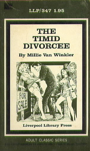 LLP 347 THE TIMID DIVORCEE by Millie Van Winkler