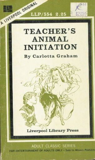 TEACHER'S ANIMAL INITIATION by Carlotta Graham