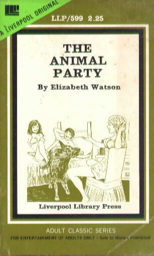 THE ANIMAL PARTY by Elizabeth Watson