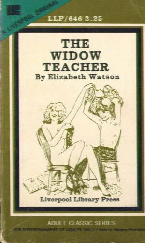 THE WIDOW TEACHER by Elizabeth Watson LLP 628