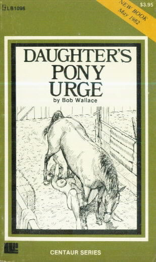 DAUGHTER'S PONY URGE by Bob Wallace