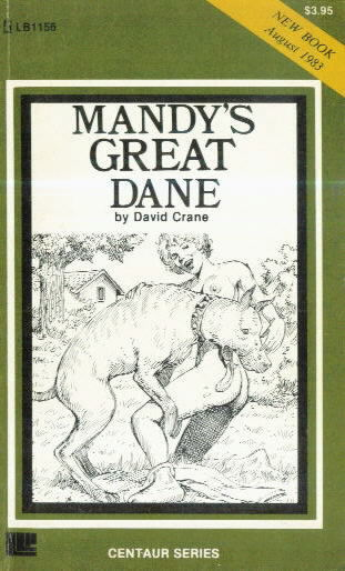 MANDY'S GREAT DANE by David Crane