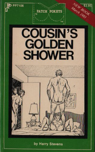 COUSIN'S GOLDEN SHOWER by Harry Stevens