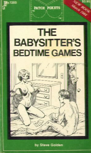 THE BABYSITTER'S BEDTIME GAMES by Steve Golden