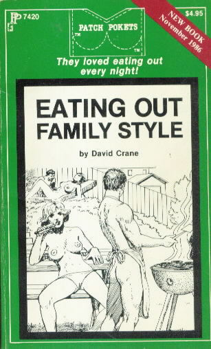 EATING OUT FAMILY STYLE by David Crane
