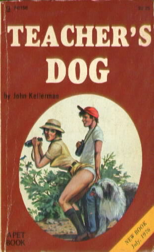 TEACHER'S DOG by John Kellerman