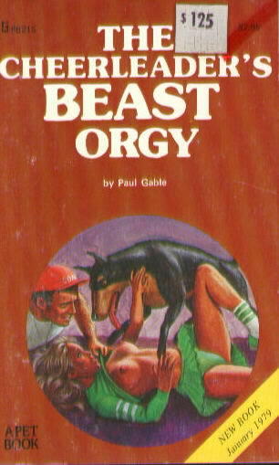 THE CHEERLEADER'S BEAST ORGY by Paul Gable