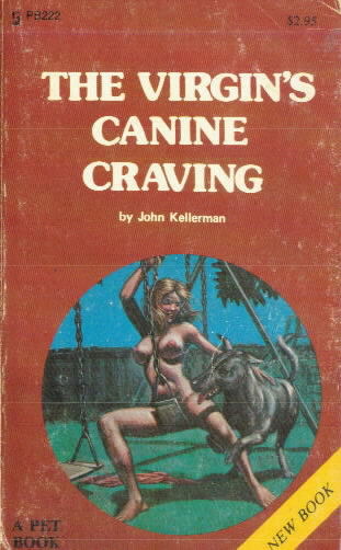 THE VIRGIN'S CANINE TRAINING by John Kellerman