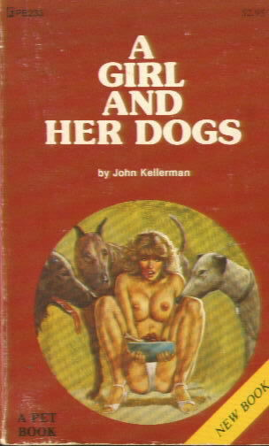 A GIRL AND HER DOGS by John Kellerman