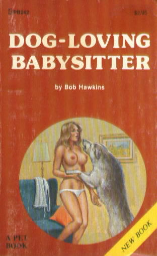 DOG-LOVING BABYSITTER by Bob Hawkins