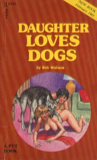 DAUGHTER LOVES DOGS by Bob Wallace