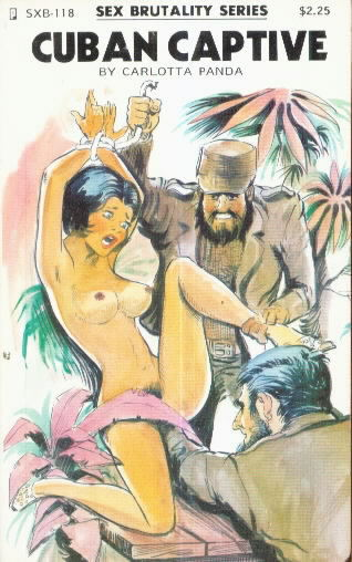 VintageSleaze.com: Vintage Adult Books SEX BRUTALITY SERIES SXB Book Catalog