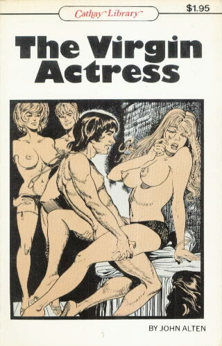 THE VIRGIN ACTRESS WITH COVER BY BILBREW