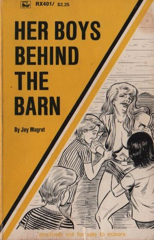 HER BOYS BEHIND THE BARN by Joy Magret