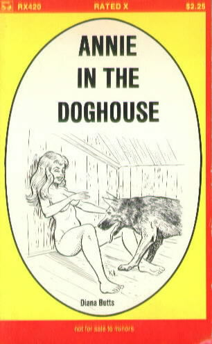 ANNIE IN THE DOGHOUSE by Diana Butts